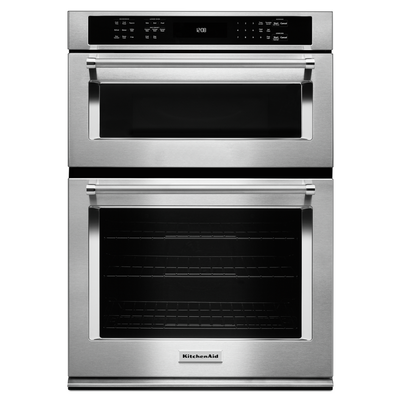 "30"" Combination Wall Oven with Even-Heat™ True Convection (Lower Oven) KOCE500ESS"