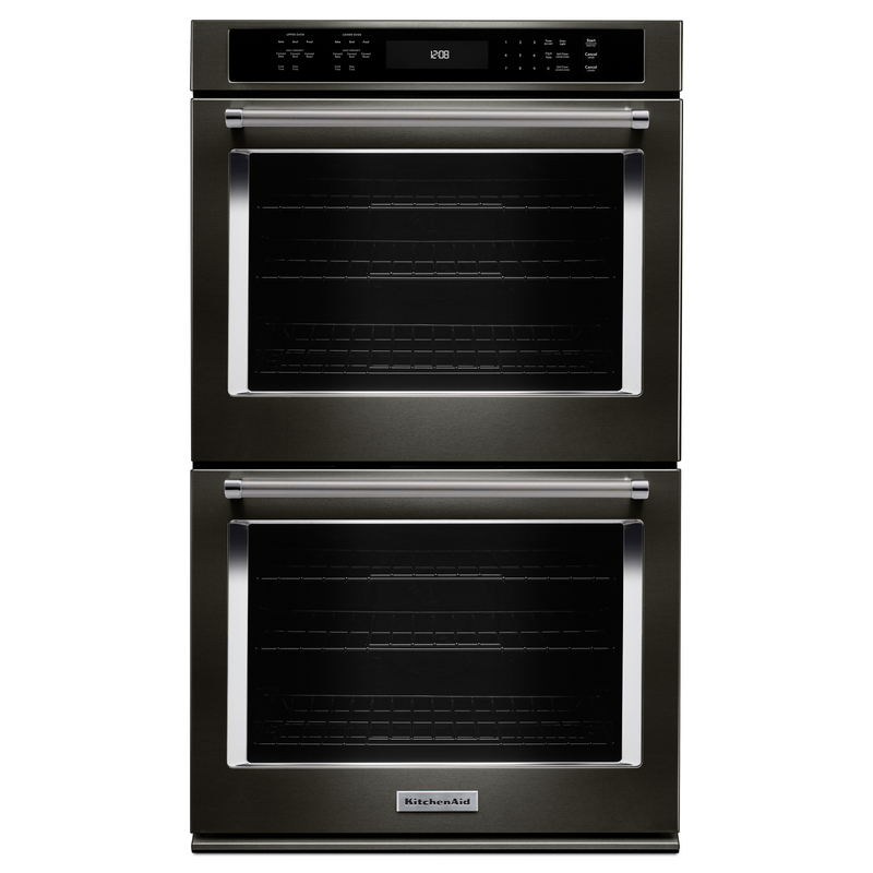 "27"" Double Wall Oven with Even-Heat™ True Convection KODE507EBS"