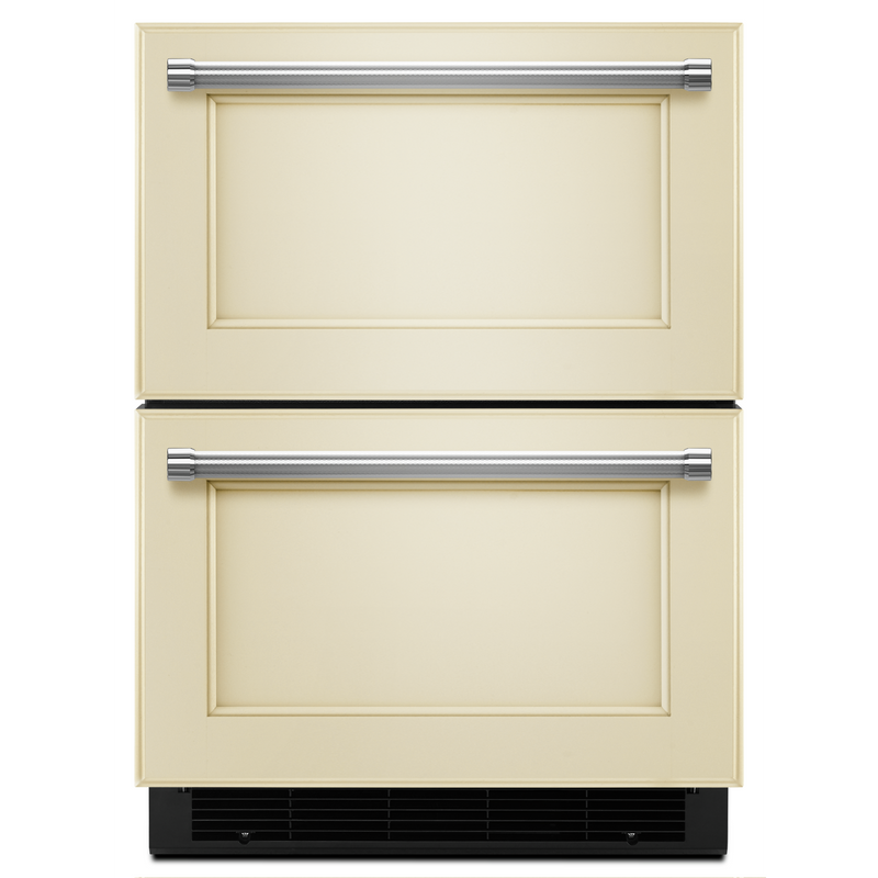 "24"" Panel Ready Double Refrigerator Drawer KUDR204EPA"