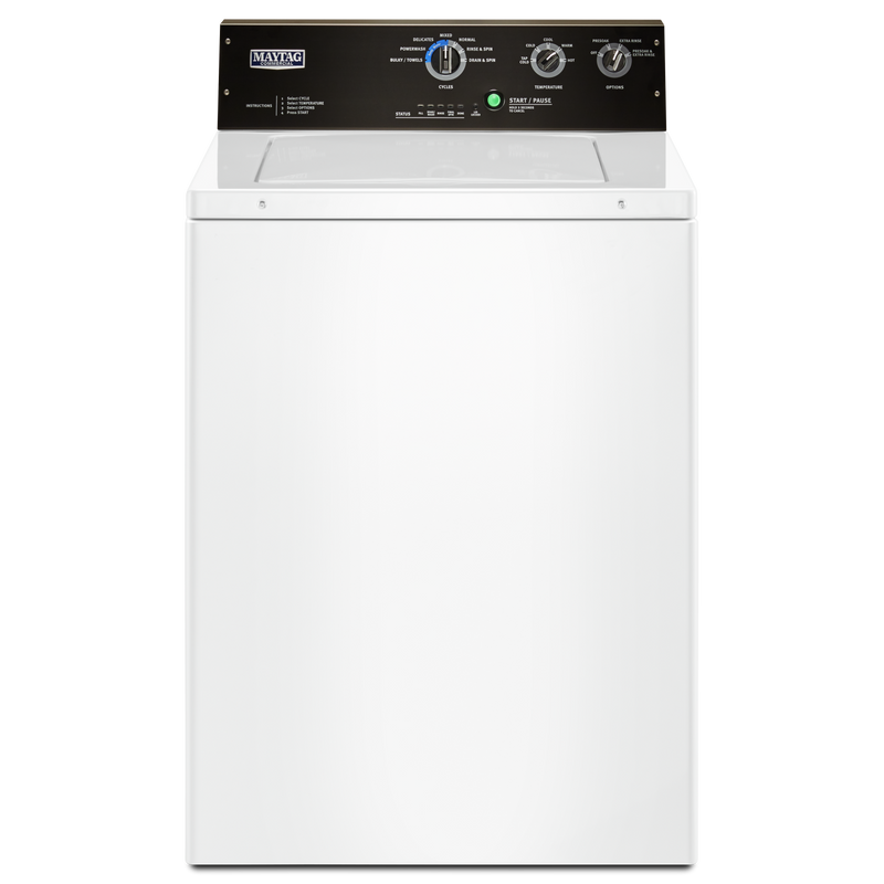 4.0 cu. ft. Commercial-Grade Residential Agitator Washer MVWP575GW