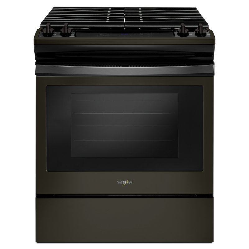 5.0 cu. ft. Front Control Gas Range with cast-iron grates WEG515S0FS