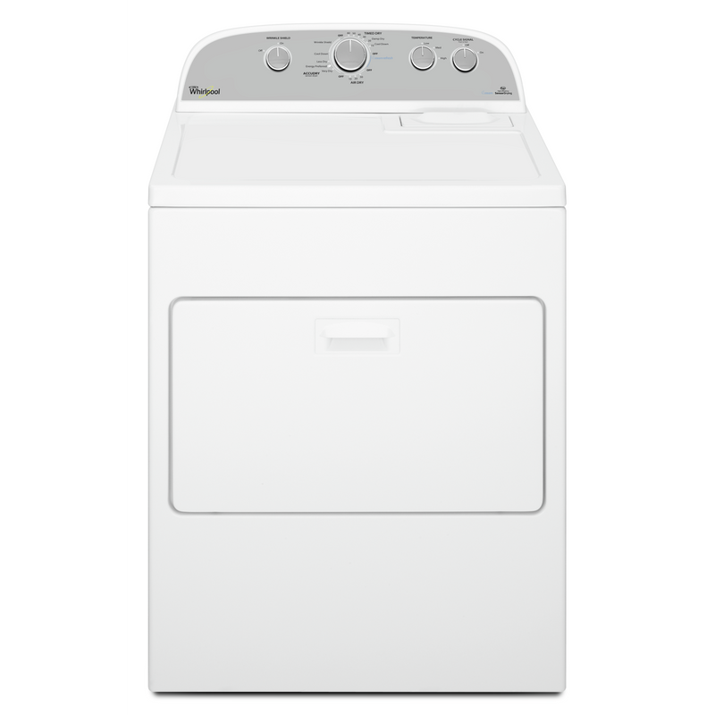 Whirlpool® 7.0 cu. ft. HE Dryer with Steam Refresh Cycle WGD49STBW