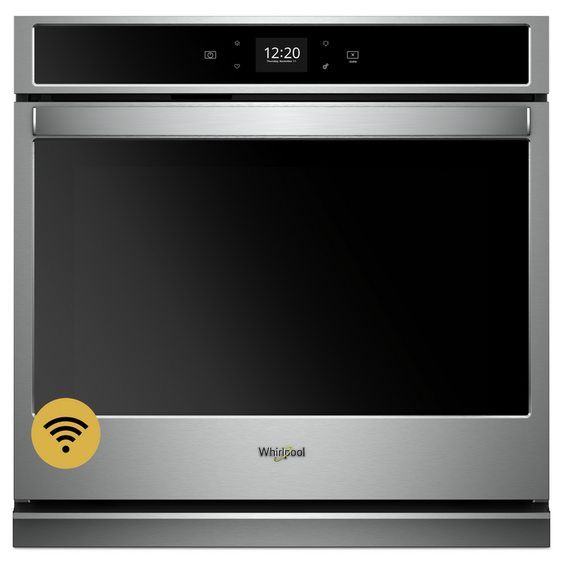 4.3 cu. ft. Smart Single Wall Oven with Touchscreen WOS51EC7HW