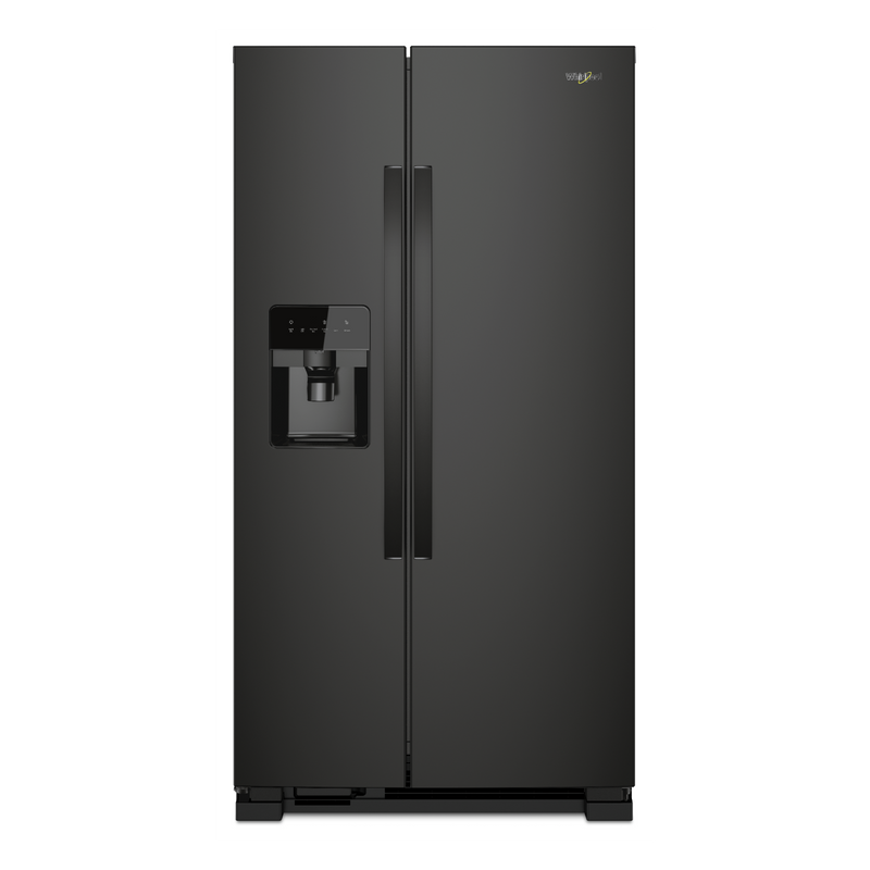 33-inch Wide Side-by-Side Refrigerator - 21 cu. ft. WRS331SDHW