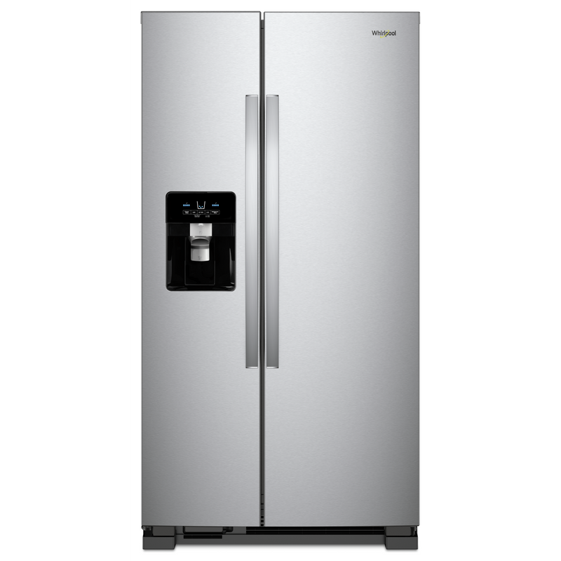 36-inch Wide Side-by-Side Refrigerator - 25 cu. ft. WRS335SDHM