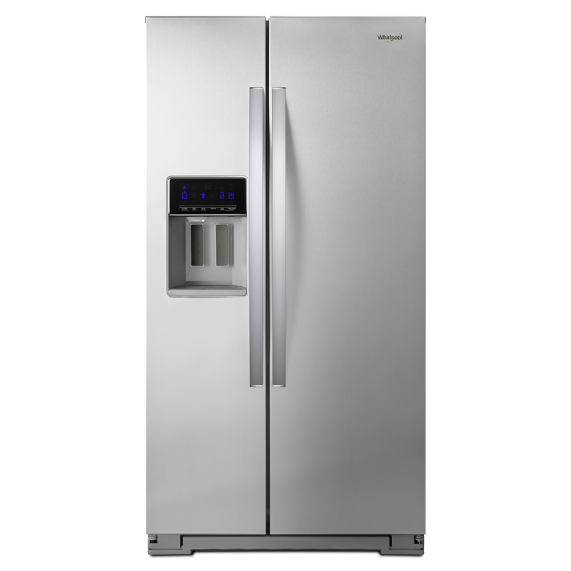 36-inch Wide Counter Depth Side-by-Side Refrigerator - 21 cu. ft. WRS571CIHW