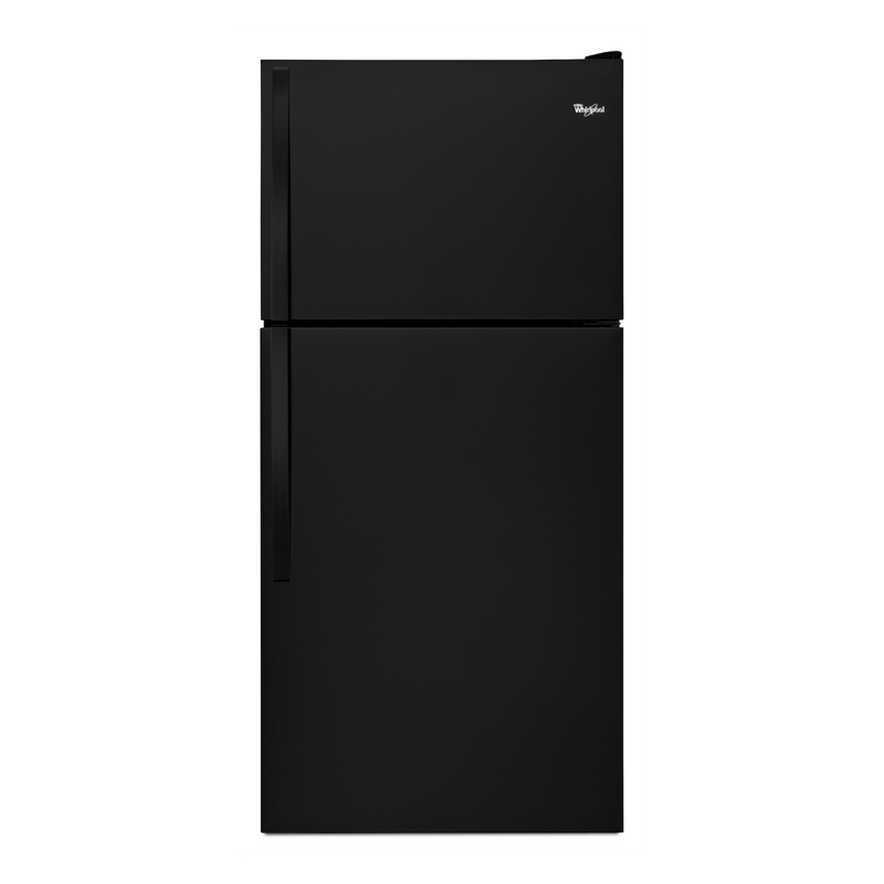 "Whirlpool® 30"" Wide Top-Freezer Refrigerator with Flexi-Slide™ Bin WRT318FZDW"