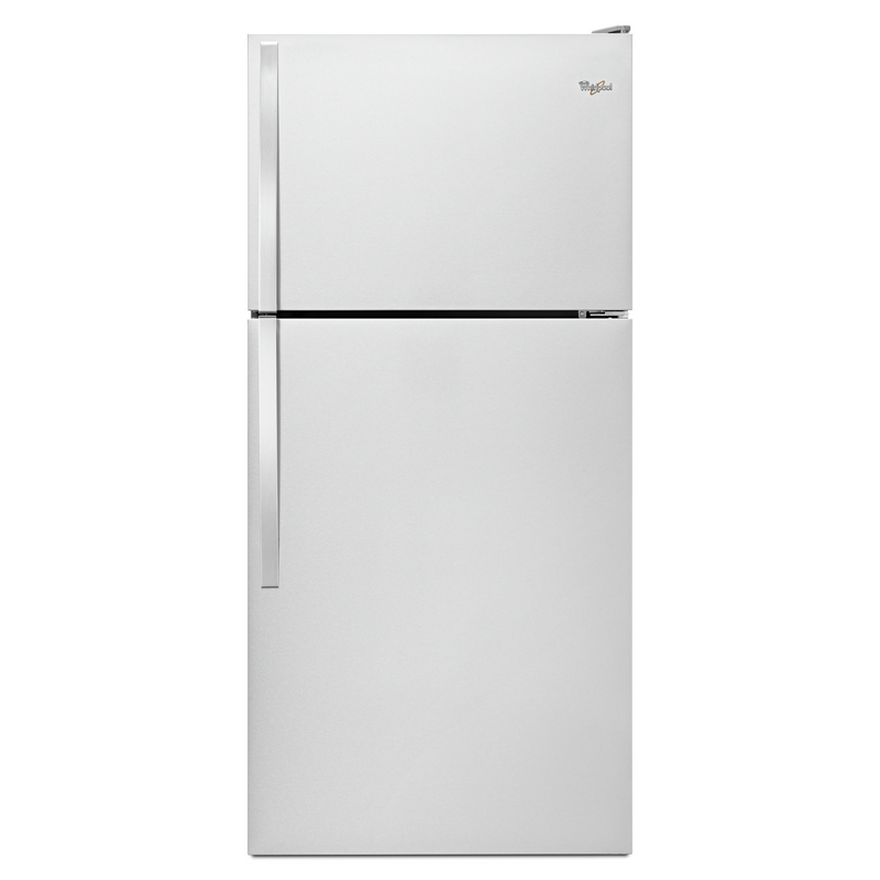"Whirlpool® 30"" Wide Top-Freezer Refrigerator with Flexi-Slide™ Bin WRT318FZDM"