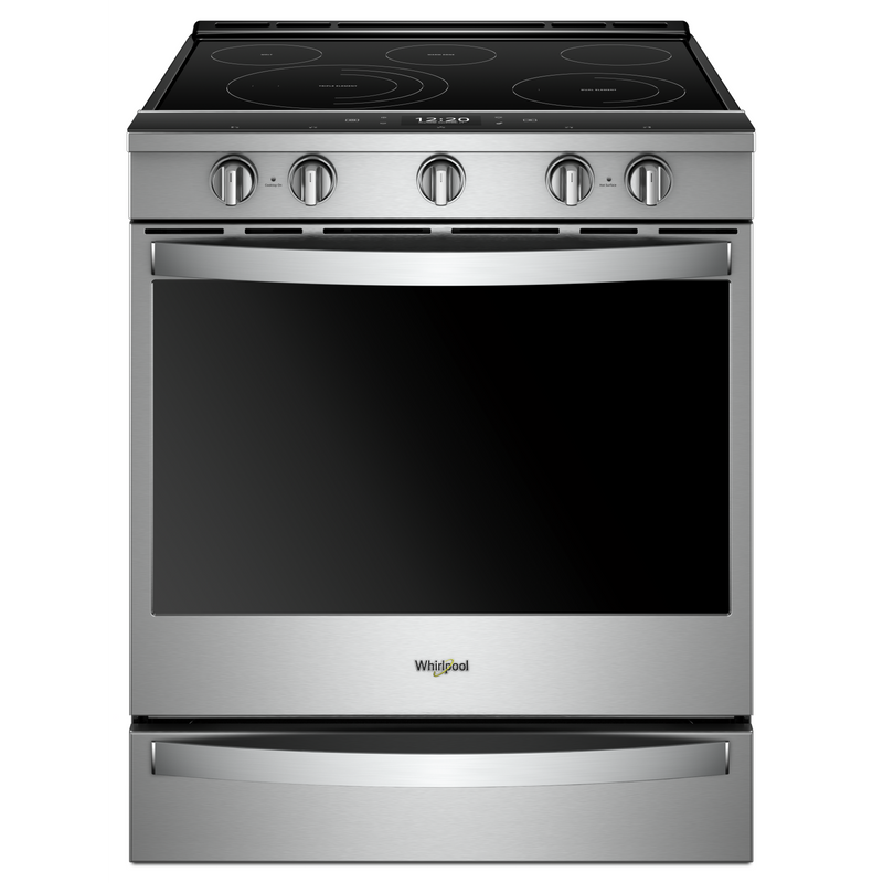 6.4 Cu. Ft. Smart Slide-in Electric Range with Frozen Bake™ Technology YWEE750H0HW