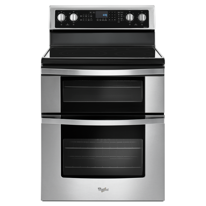 Whirlpool® 6.7 Cu. Ft. Electric Double Oven Range with True Convection YWGE745C0FS