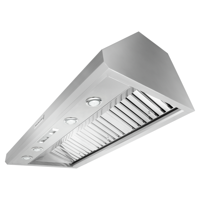 "48"" Commercial-Style Wall-Mount Canopy Range Hood KVWC908JSS"