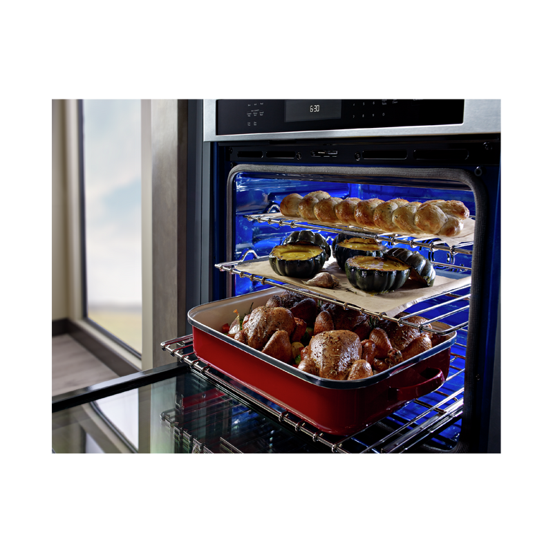 "30"" Single Wall Oven with Even-Heat™ True Convection KOSE500EWH"