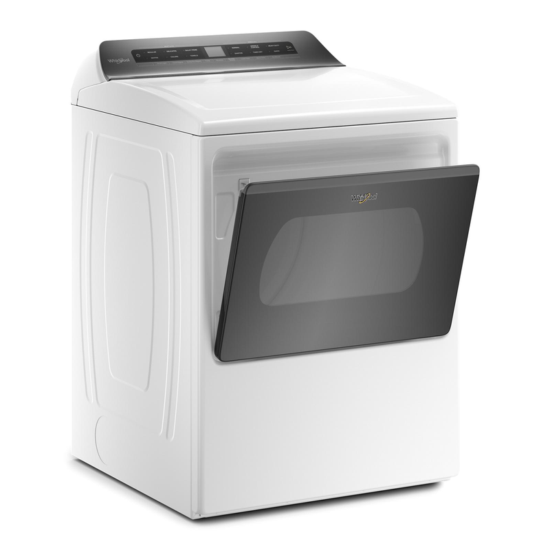 7.4 cu. ft. Top Load Electric Dryer with Intuitive Controls YWED5100HW