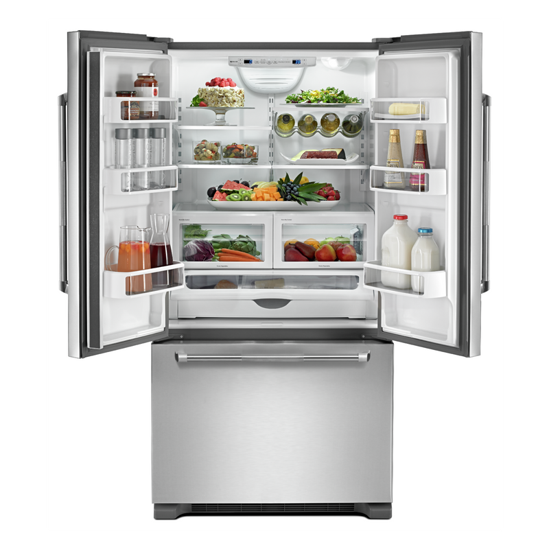 "RISE 36"" French Door Freestanding Refrigerator JFFCF72DKL"