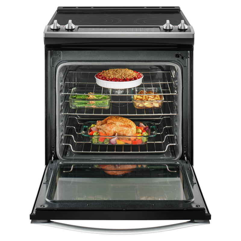 6.4 Cu. Ft. Front Control Electric Range with True Convection YWEE745H0FS