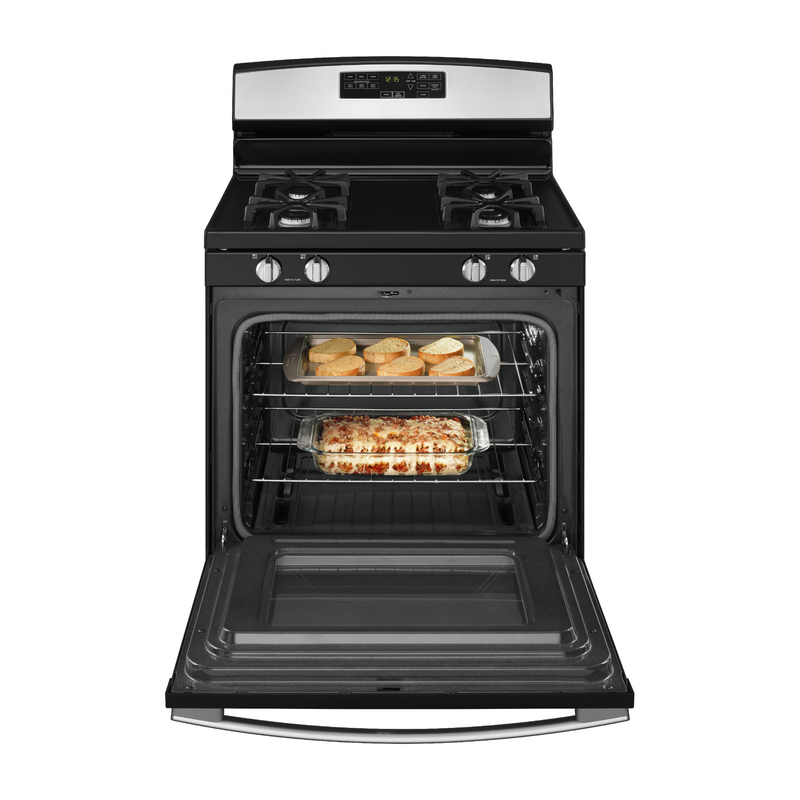 30-inch Gas Range with Self-Clean Option AGR6603SFS