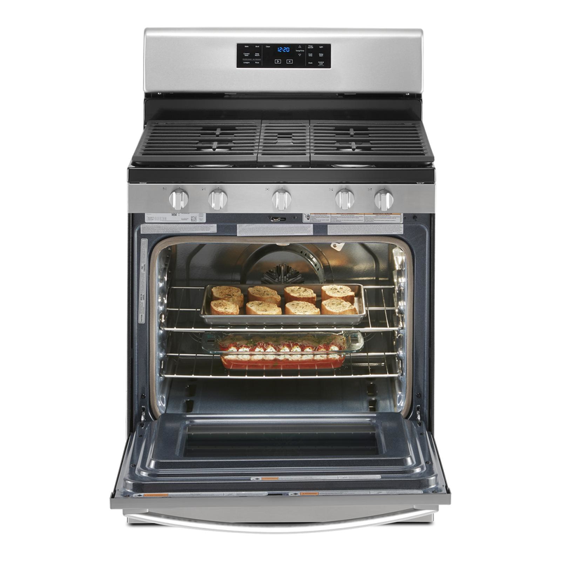 5.0 cu. ft. Whirlpool® gas convection oven with fan convection cooking WFG535S0JZ
