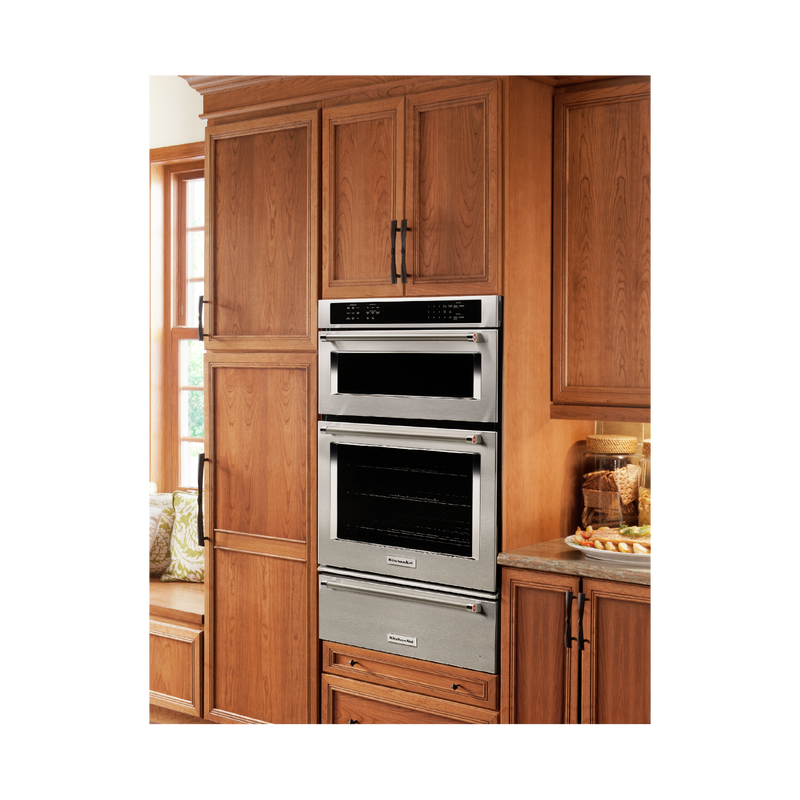 "27"" Combination Wall Oven with Even-Heat™ True Convection (lower oven) KOCE507ESS"