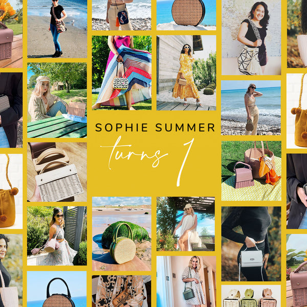 Sophie Summer turns one banner graphic