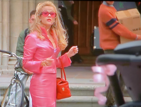 Cherry-coloured bag in Legally Blonde