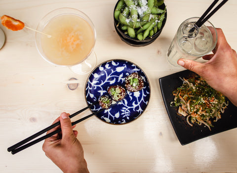 Japanese food and drink Unsplash image by Louis Hansel