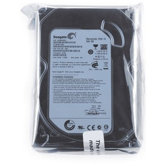 Disco Duro Seagate 500GB 35 SATA II HD Color Plomo Cámaras Seguridad