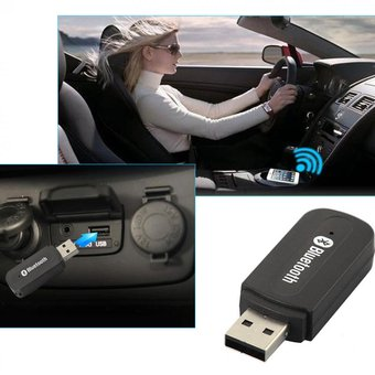 Adaptador Receptor De Audio USB BT Bluetooth Audio Stereo - Negro