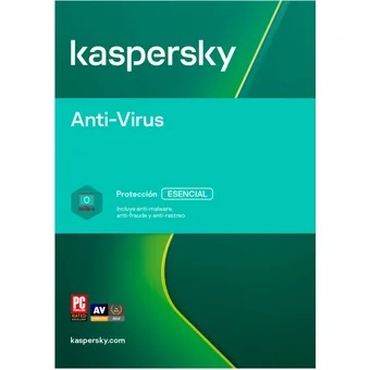Kaspersky antivirus 3 PC (Codigo Digital)