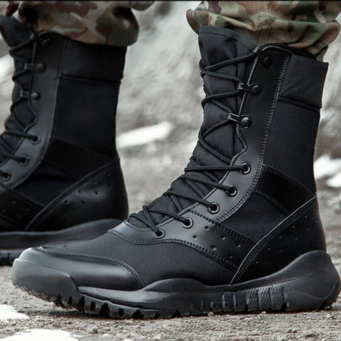 35-47 Ultralight Tactical Combat Training Boots Men Women Outdoor Trekking Climbing Hiking Shoes Breathable Mesh Hunting Sneaker