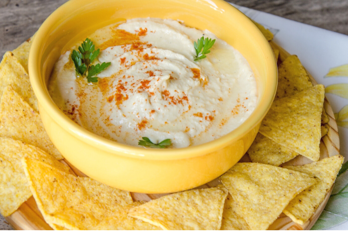Spicy Almond Dip