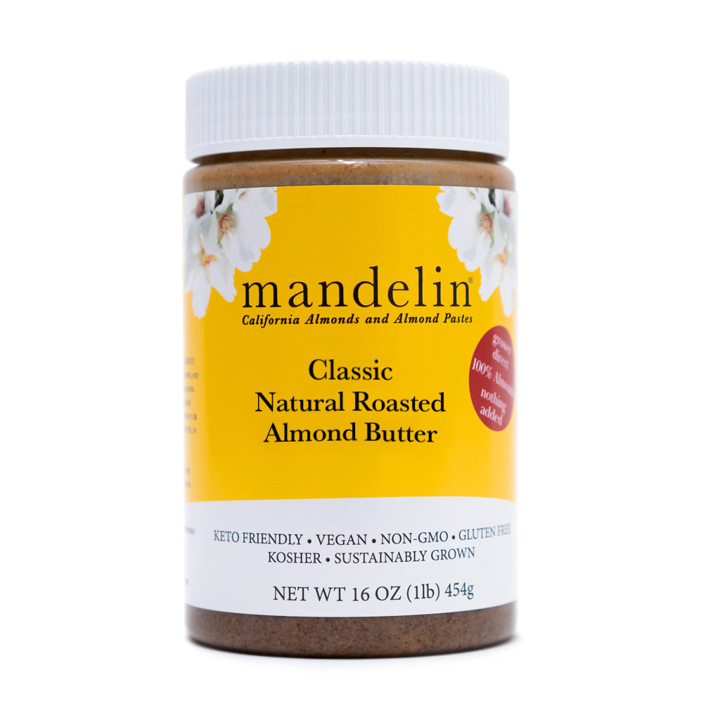 Natural Roasted Almond Butter