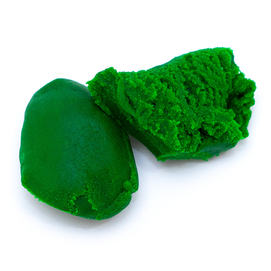 Holiday Green Marzipan