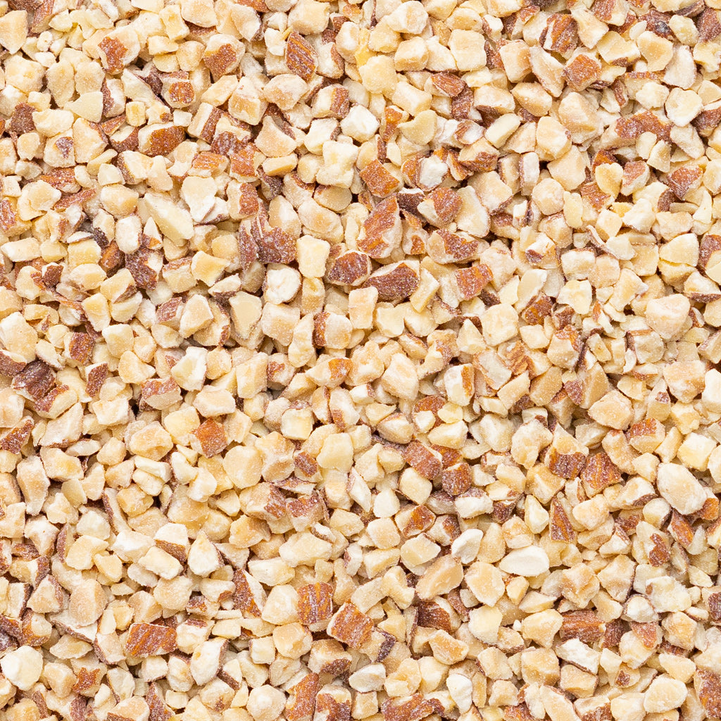 Natural Dry Roasted Almonds Diced <br /> Medium (14/8)