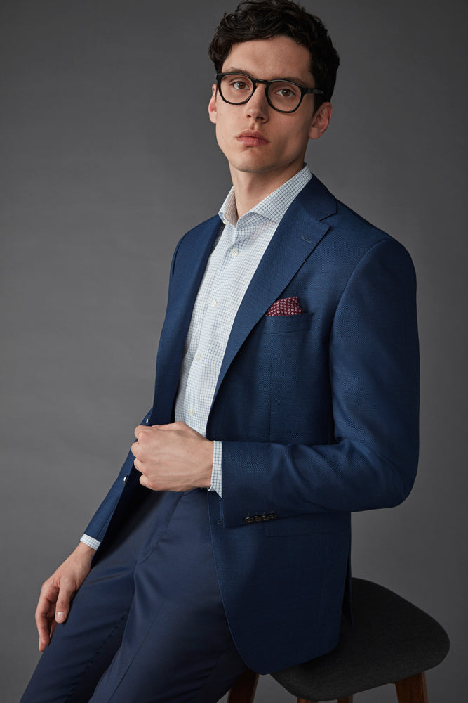 Jack Victor Blue Tic Sportcoat