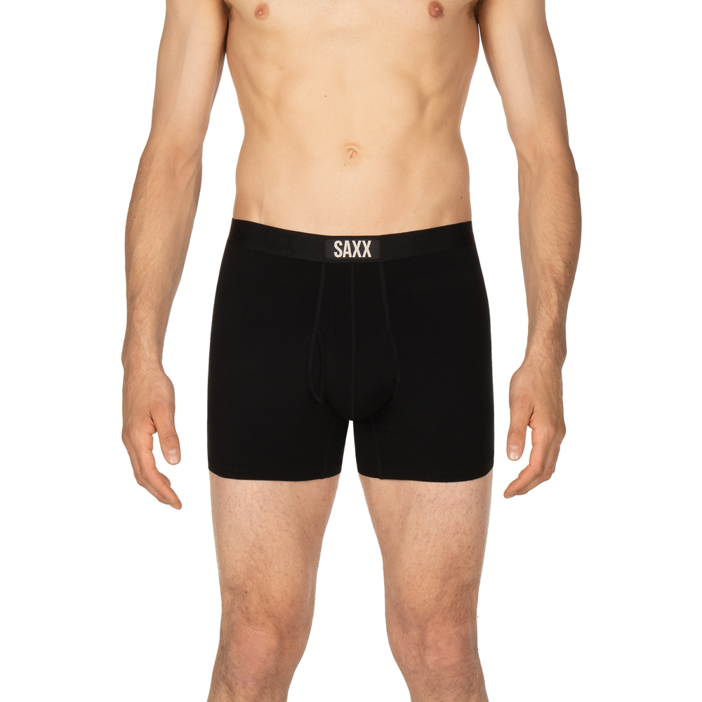 Load image into Gallery viewer, SAXX ULTRA Boxer Brief / Black/Black