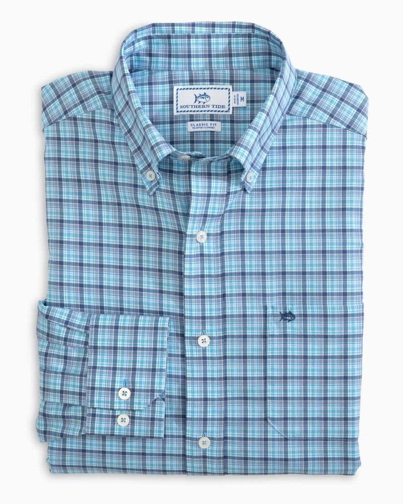 Southern Tide SKIPJACK MULTICHECK BUTTON DOWN SHIRT