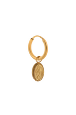 Single L'amour Hoop - Gold