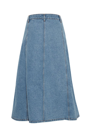 Load image into Gallery viewer, BYLyra Skirt - Light Blue Denim