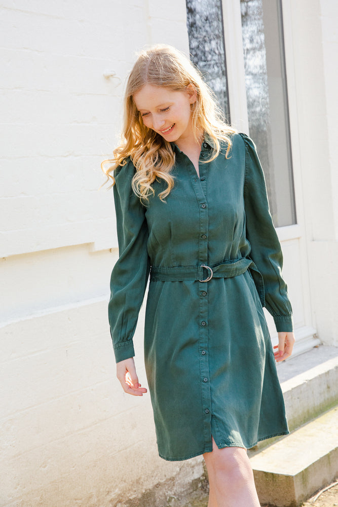 BYJovie Dress - Jungle Green