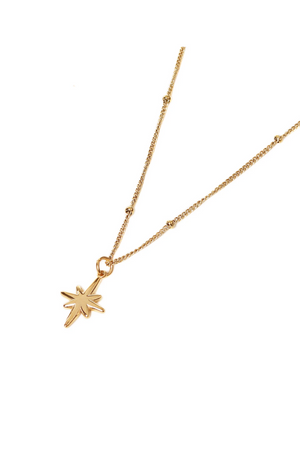 Big Star Necklace - Gold
