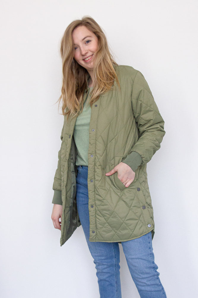 BYCanna Coat - Oil Green
