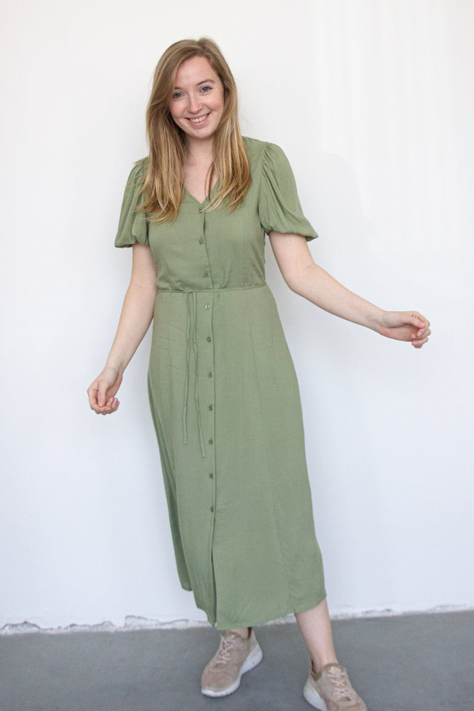 BYMmjoella Midi Dress - Oil Green
