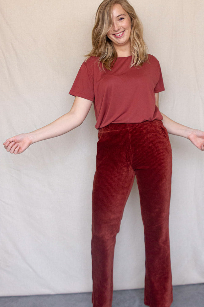 Load image into Gallery viewer, Agga Pants - Redwood