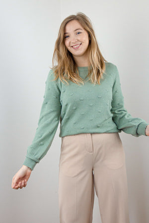Load image into Gallery viewer, BYNonina Jumper - Iceberg Green