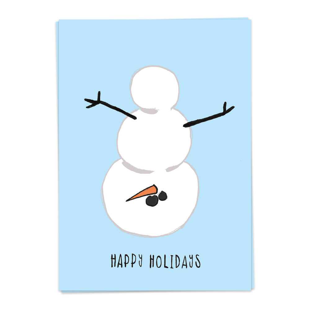 Load image into Gallery viewer, Naughty Snowman - Kaart Blanche