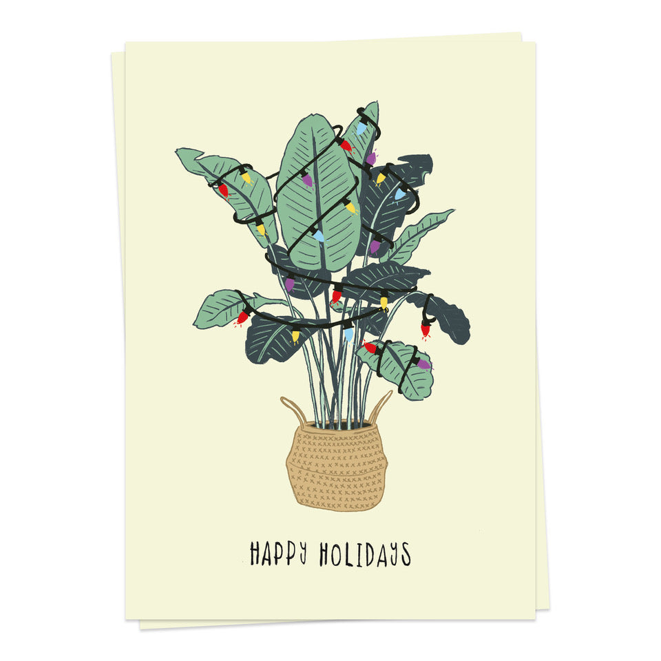 Load image into Gallery viewer, Plant Christmas - Kaart Blanche