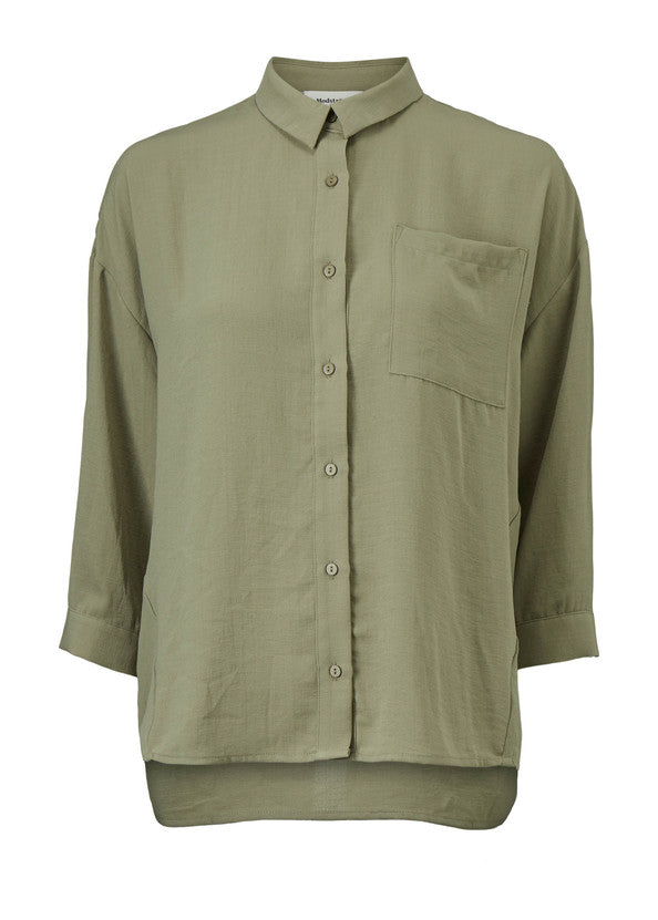 Alexis Shirt - Light Khaki