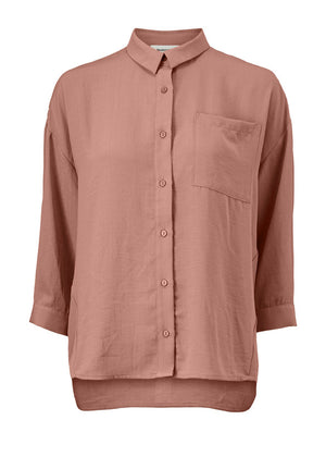 Load image into Gallery viewer, Alexis Shirt - Raw Umber