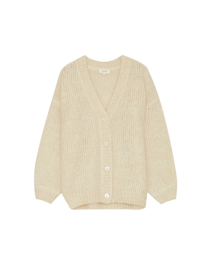 Load image into Gallery viewer, Bao Cardigan - Beige