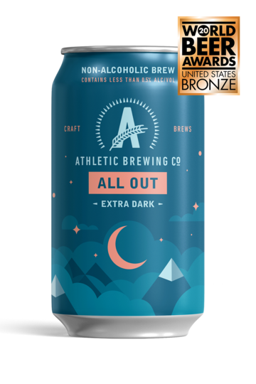 Athletic Brewing - All Out Stout (6-Pack)